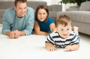 worry free happy family